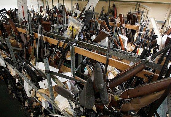Gun Room at Philadelphia's City Hall